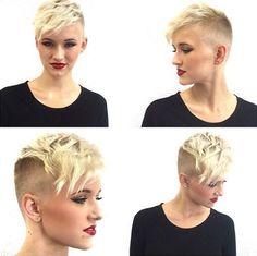 Short Pixie Haircut for Curly Hair