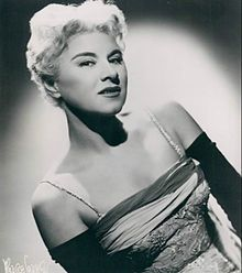 """Hildegarde (February 1, 1906 - July 29, 2005) was an American cabaret singer, best known for the song """"Darling, Je Vous Aime Beaucoup."""""""