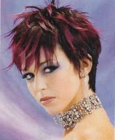 Cute short cropped flipped out edgy haircut Short Spiky Hairstyles, Edgy Haircuts, Trending Haircuts, Girl Haircuts, Messy Hairstyles, Pixie Haircuts, Short Sassy Hair, Short Hair Cuts, Short Hair Styles