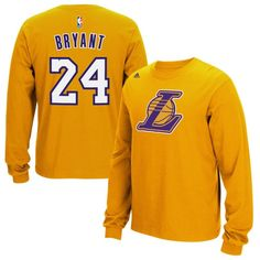 fb92df24e Los Angeles Lakers Long Sleeve Tee Adidas