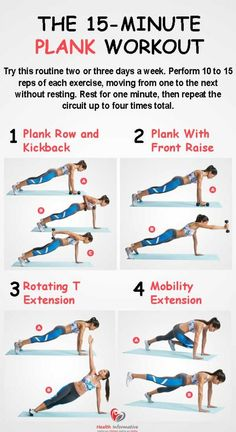 planking for weight loss  Complete the entire cycle three times every week, take 30 seconds between each exercise to roll your wrist and shoulders, and you'll get stronger, incredibly toned muscles.