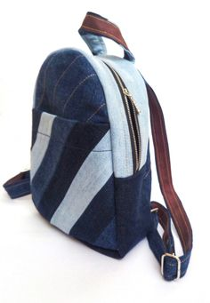 bag from upcycled jeans