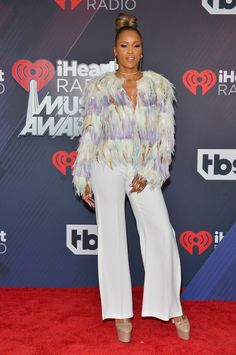 Eve attends the 2018 iHeartRadio Music Awards in Inglewood, California | See Cicely Tyson, June Ambrose, Laverne Cox, and other celebrity pics of the week.