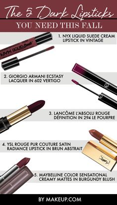 From brown to burgundy: Here are the fall lip colors you need right now!
