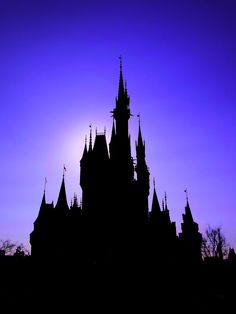 cinderella castle silhouette - Google Search #Disney