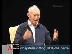 Lee Kuan Yew - Pt 1/3 Singapore - the next 50 years