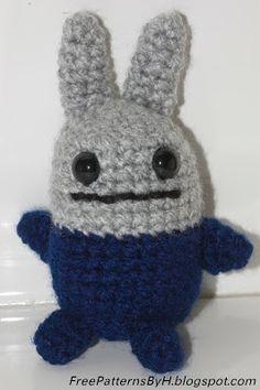 Scrap Bunny Amigurumi - Free Pattern