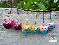 Ravelry: Owl Family pattern by Lena Crochetfox