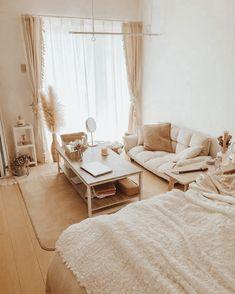 Room Design Bedroom, Room Ideas Bedroom, Home Room Design, Small Room Bedroom, Home Decor Bedroom, Bedroom Designs, Master Bedroom, Korean Bedroom Ideas, Minimalist Room
