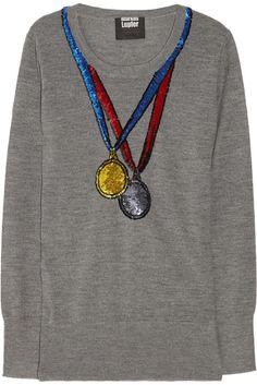 Marcus Lupfer Olympics sweater via Wee Birdy. #London #Olympics #LondonOlympics