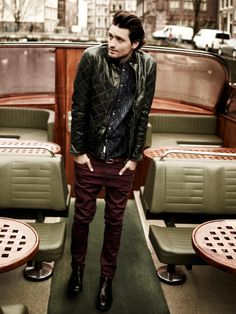 Like the colors and textures. Scotch & Soda Fall/Winter 2013 campaign | www.scotch-soda.com