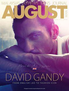 David Gandy August Magazine
