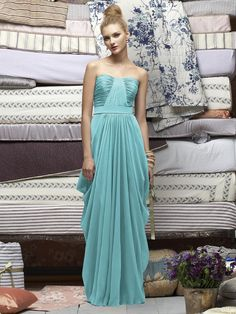 Shop our gorgeous collection of Lela Rose bridesmaid dresses and discover the ultimate combination of style and accessibility. Find the perfect Lela Rose gown from The Dessy Group! Silver Bridesmaid Dresses, Grey Bridesmaids, Affordable Bridesmaid Dresses, Bohemian Bridesmaid, Bridesmaid Ideas, Strapless Dress Formal, Prom Dresses, Formal Dresses, Wedding Dresses
