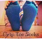 Grip Toe Socks Fabulous, functional, for the win!  Get down in all your creative movement glory whilst enjoying the wintery outdoors or chil...