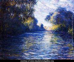 Morning On The Seine 2 - Claude Oscar Monet - www.claudemonetgallery.org