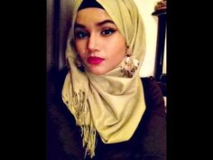 #8.HOW TO WEAR  A HIJAB WITH EARRINGS | Minazification - #8.HOW, earrings, HIJAB, Minazification, Wear
