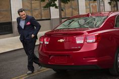 Isaac Mizrahi is designing a new collection inspired by the Chevrolet Malibu. Love it!