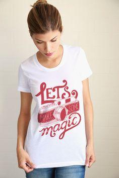 Make Magic Women Tee - love all these tees & coffee mugs