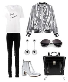 """""""Untitled #1"""" by elenasaburova on Polyvore featuring Tom Ford, Sans Souci, Yves Saint Laurent, J.W. Anderson, Marc Jacobs, 3.1 Phillip Lim and Ray-Ban"""