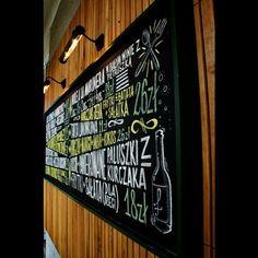 Details @fidel_bar Sopot. #chalkboard #chalk #chalklettering #lettering…
