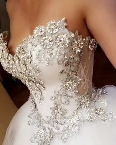 Arsine Karoza Bridal Inc. dresses sparkly videos Arsine Karoza Bridal Inc. Stunning Wedding Dresses, Wedding Dress Trends, Princess Wedding Dresses, Dream Wedding Dresses, Wedding Attire, Elegant Wedding, Bridal Dresses, Wedding Gowns, Crystal Wedding Dresses