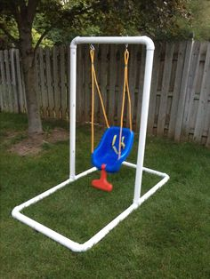 homemade infant swing stand 6500 what youll need - Diy Swing Frame