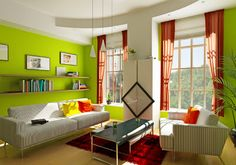 Decoración Interior con Colores Fríos: Azul y Verde | Ideas para decorar, diseñar y mejorar tu casa.