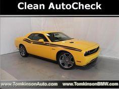 2012 Dodge Challenger, 13,600 miles, $28,924.