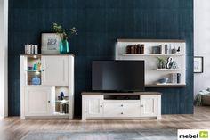 Szafka rtv LUND model II, sosna polarna - sklep meblowy Flat Screen, The Unit, Furniture, Home Decor, Blood Plasma, Homemade Home Decor, Home Furnishings, Interior Design, Home Interiors