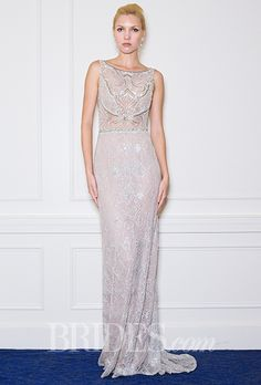 Brides: Alon Livne Wedding Dresses   Fall 2015   Bridal Runway Shows   Brides.com | Wedding Dresses Style