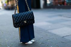 Fashion blogger Allabouttara.com for Bagista- Shop our Chanel collection here https://bagista.co.uk/search?type=product&q=chanel