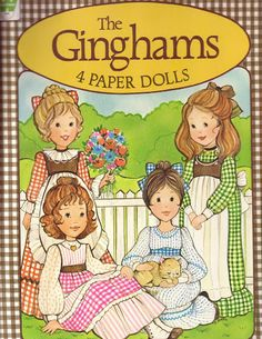 The Gingham Girls (Free Printable Vintage Paper Dolls). Had these growing up. It takes a few links to get to the dolls but it is worth it! Paper Dolls Book, Vintage Paper Dolls, Vintage Toys, Vintage Stuff, My Childhood Memories, Childhood Toys, School Memories, Sweet Memories, Canson
