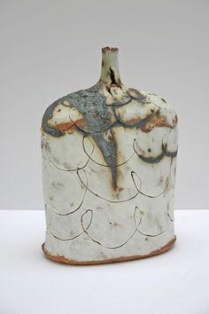 """rough"" ceramics by Jane Wheeler"
