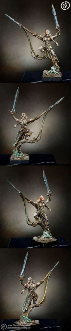 Wood Elf Wardancer Lord