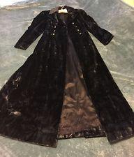 Black Vintage Pina De Roma - Edwardian, Victorian, Gothic, Steam Punk Coat