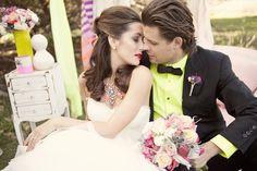 Neon Wedding Inspiration… » Ashley Maxwell Photography
