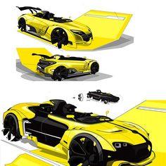 "849 Likes, 10 Comments - SIMKOM (@simkomdotcom) on Instagram: ""Renault Ideation by Thomas Fleuret, Designer at Vintech LLC"""