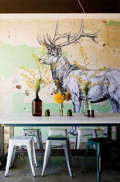 Missprint imprim s chic pour papier peint tendance for Parois murales modulables