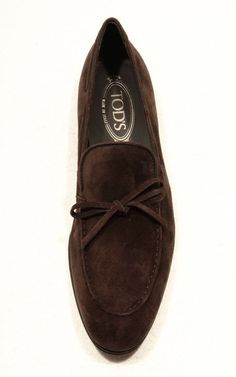 Tods Suede Loafers Collection