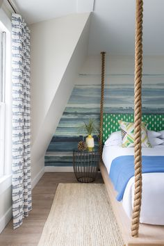 swinging bed | Summercamp Hotel - Martha's Vineyard
