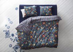 ROSENRIPS Dekbedovertrek | #nieuw #IKEA #IKEAnl #dekbed #dekbedovertrek #bed #slapen #bloemen #bloem #bloemrijk #kleur #kleurrijk #katoen #perkalkatoen