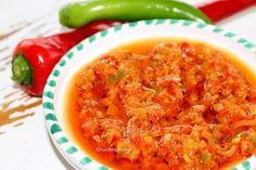 Chilli and Garlic Relish - Foodeva Marsays' 'Calistos Version'