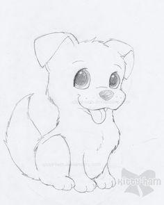 Puppy Sketch by ~Kitty-Ham on deviantART: