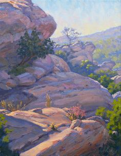 Landscape Painting California Plein Air Painting by ElenaRoche