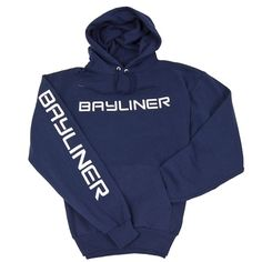 Stay warm and comfy on an evening on your #boat with a Bayliner #hoodie.
