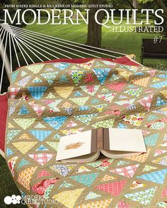 Retro, Modern Quilts Illustrated #7. Photo: Jim White. Copyright Modern Quilt Studio.