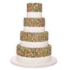 Rainbow Party - Sprinkle Cake