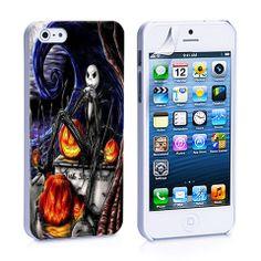 Jack Skellington iPhone 4, 4S, 5, 5C, 5S Samsung Galaxy S2, S3, S4 Cas – iCasesStore