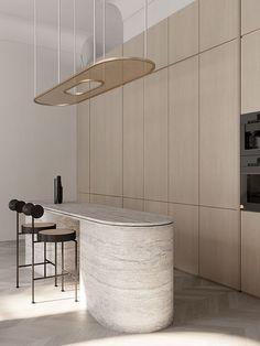 Minimalist Interior, Modern Interior, Interior Architecture, Futuristic Architecture, Rooms Decoration, Decoration Design, Modern Kitchen Design, Interior Design Kitchen, Kitchen Decor