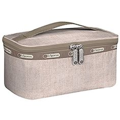 LeSportsac Rectangular Train Case Bag (Gold Rush) ** Details can be found by clicking on the image. (This is an affiliate link) #ToolsAccessories